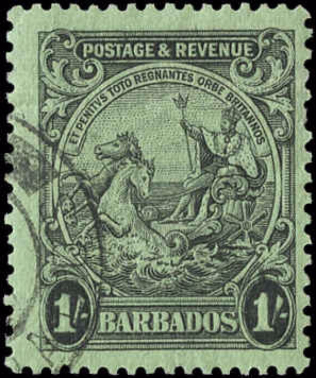 Barbados Stamp, Scott #175A, F+, Used