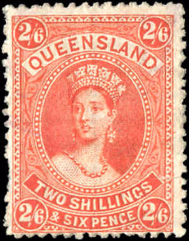 Australian States [Queensland], ##75, F, Used