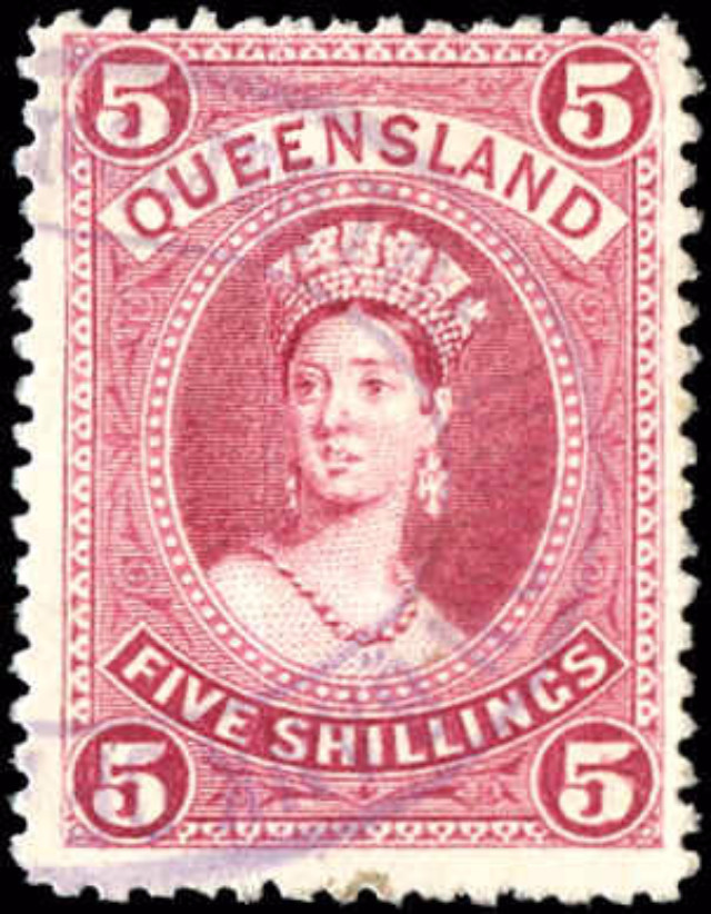 Australian States [Queensland], ##81, F, Used