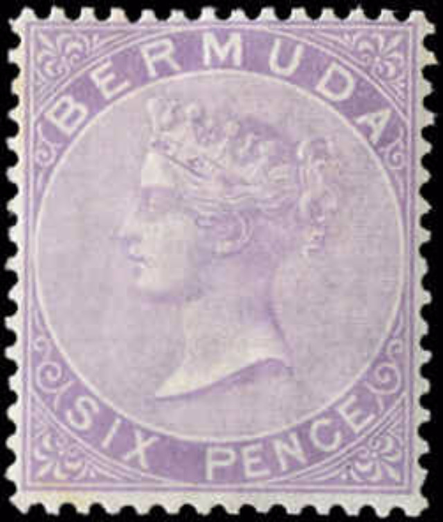 Bermuda Stamp, Scott ###5, F+, MH