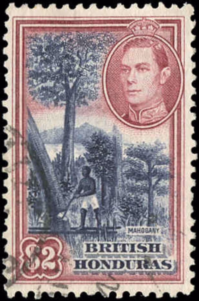 British Honduras, #125, F-VF, Used