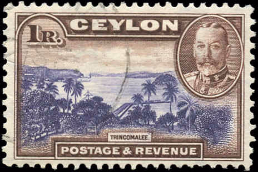 Ceylon, #274, F-VF, Used