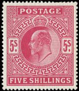 Great Britain, #140, F-VF, MH