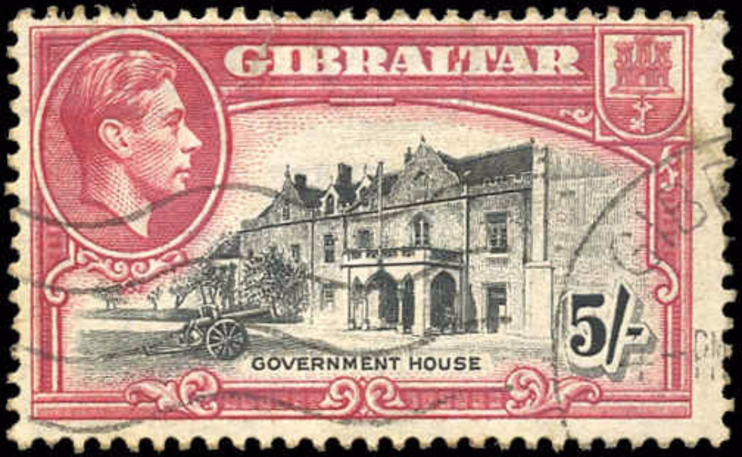 Gibraltar, #116, F, Used