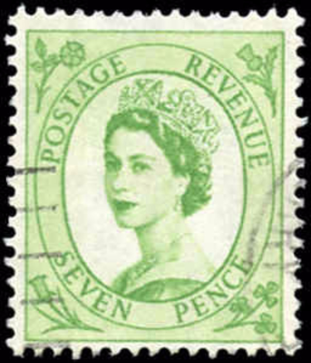 Great Britain, #326, F-VF, Used