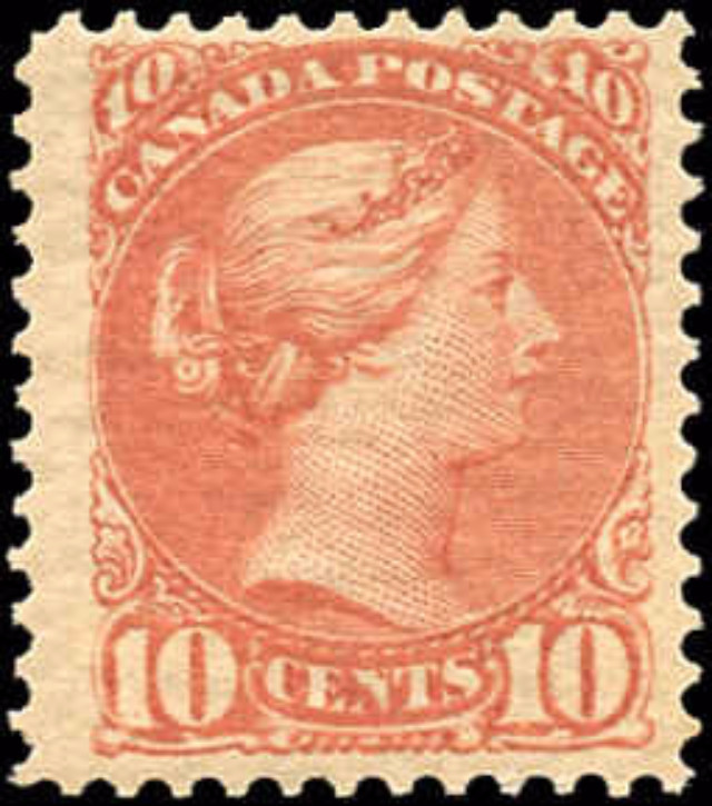 Canada ##45a, Small Queen Issue, F-VF, MNH