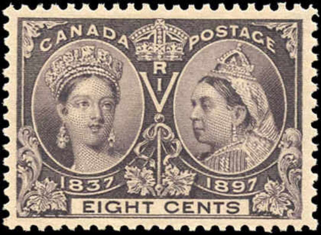 Canada ##56 Jubilee Stamp VF Mint NH