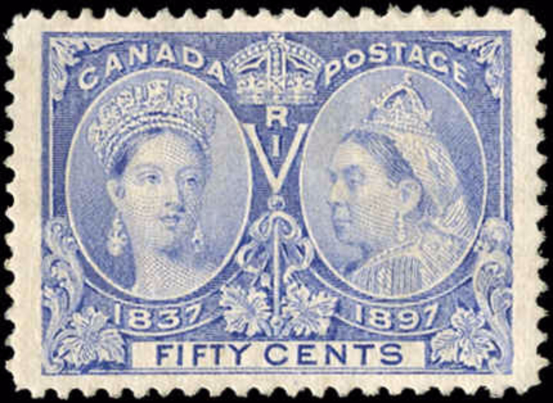 Canada ##60 Jubilee Stamp VF Mint NH