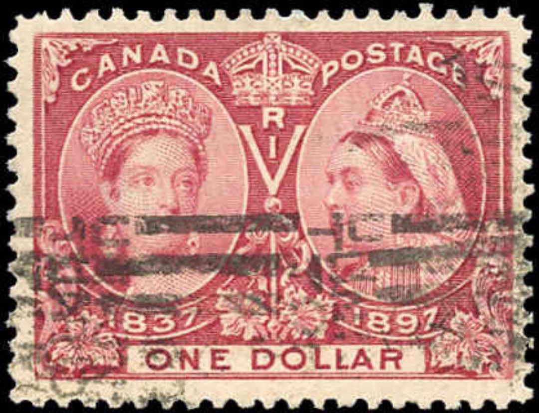 Canada ##61 Jubilee Stamp F-VF Used