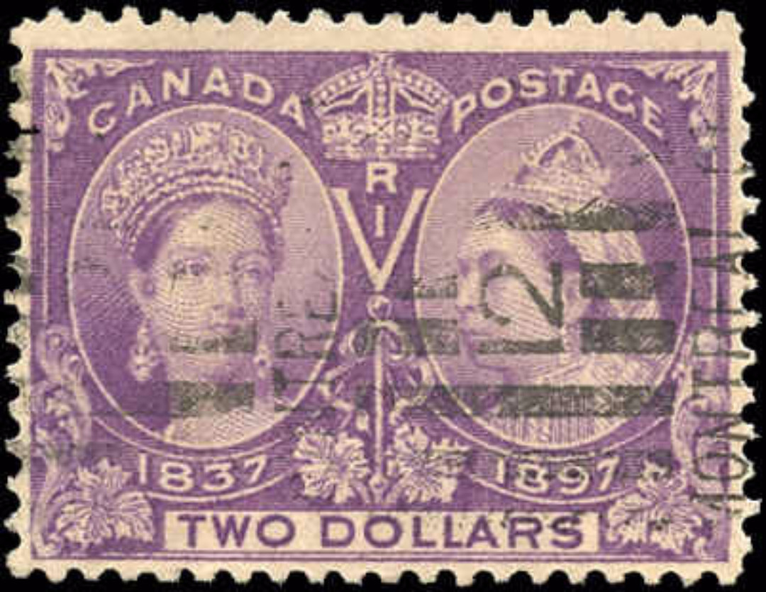 Canada ##62 Jubilee Stamp F+ Used