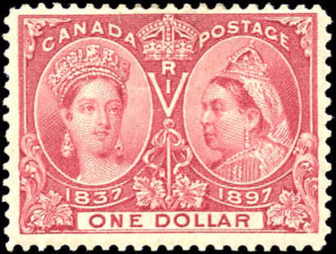 Canada ##61 Jubilee Stamp F-VF Mint H