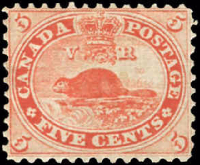 Canada ##15, First Cents Issue, F-VF, MNH