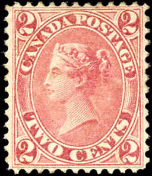 Canada ##20a, First Cents Issue, F-VF, MH