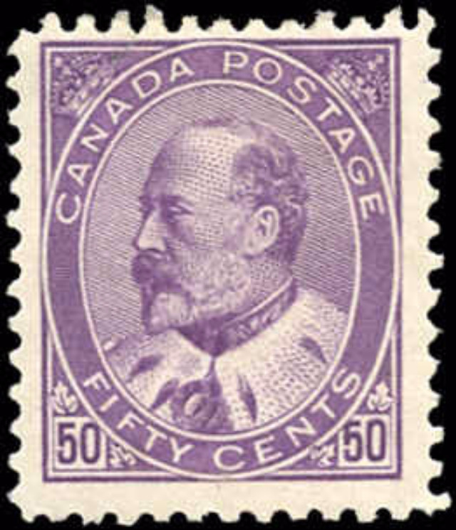 Canada ##95, King Edward VII Issue, F-VF, MH