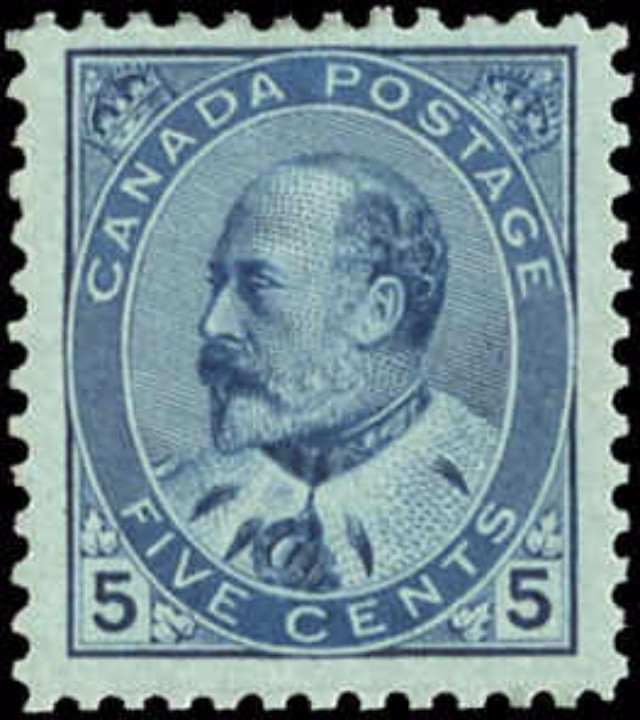 Canada ##91, King Edward VII Issue, F-VF, MNH