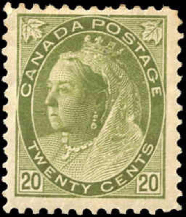 Canada ##84, Numeral Issue, F+, MH