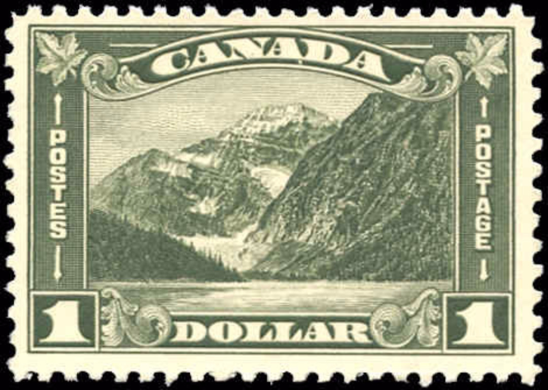 Canada #177, Arch/Leaf Issue, F-VF, MNH