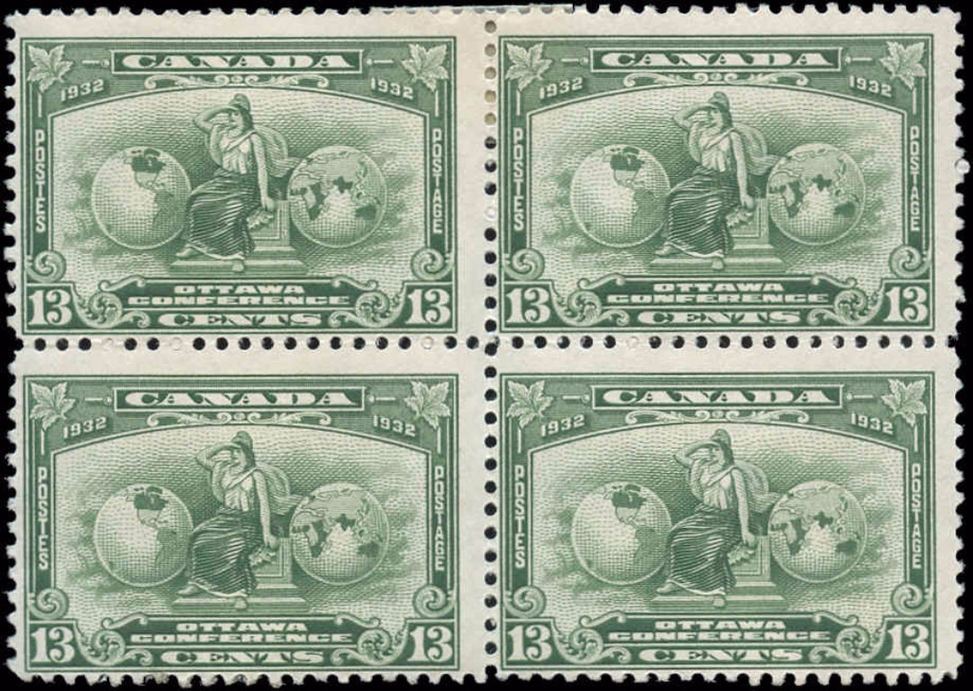 Canada #194, Econ Conference, F, MNH/MH
