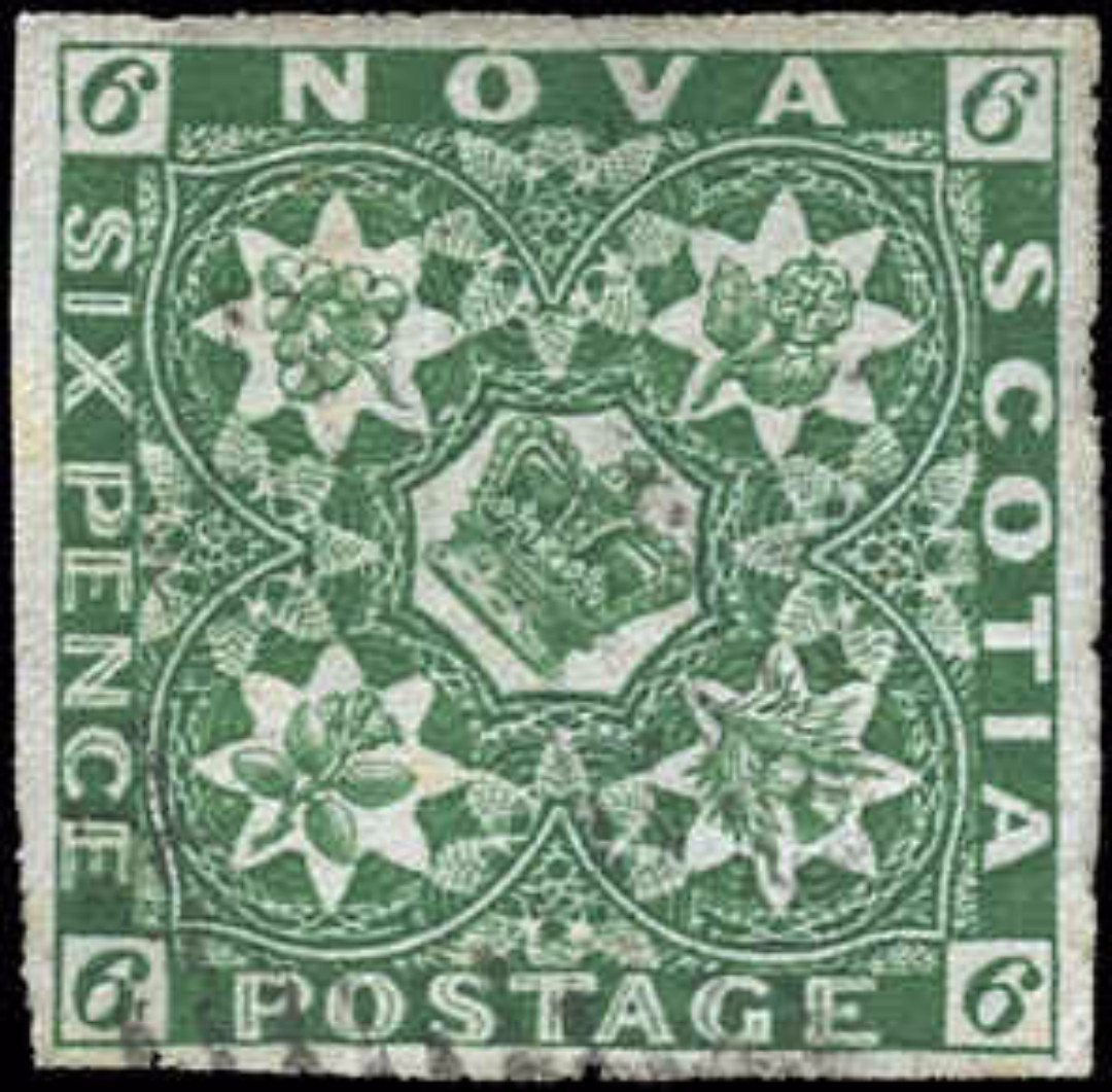 Nova Scotia ###5, F-VF, Used