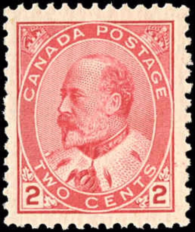Canada ##90, King Edward VII Issue, VF, MNH