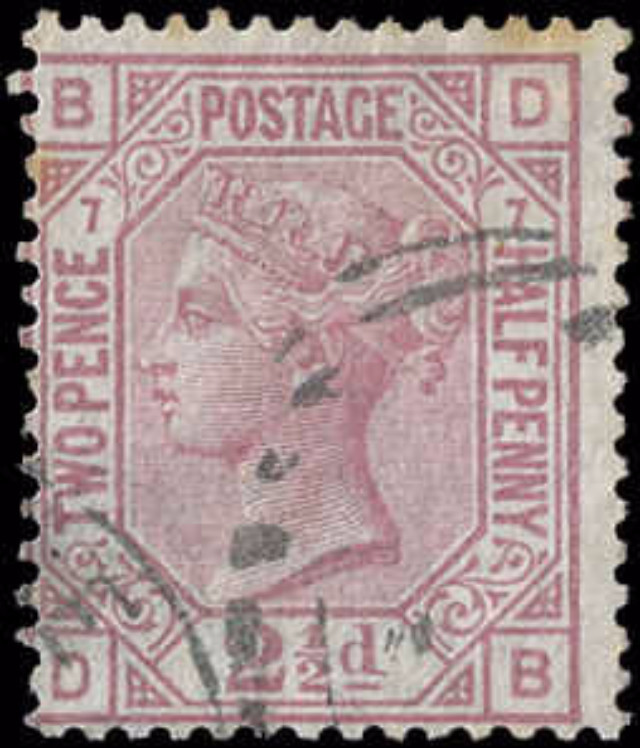 Great Britain, ##67, F, Used