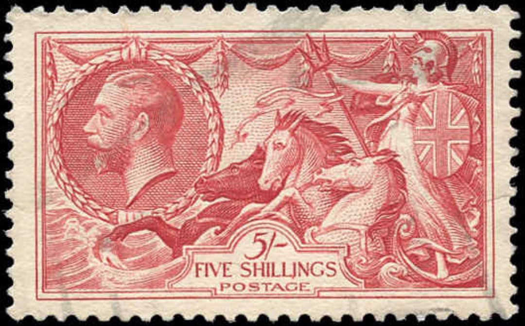 Great Britain, #223, F-VF, Used