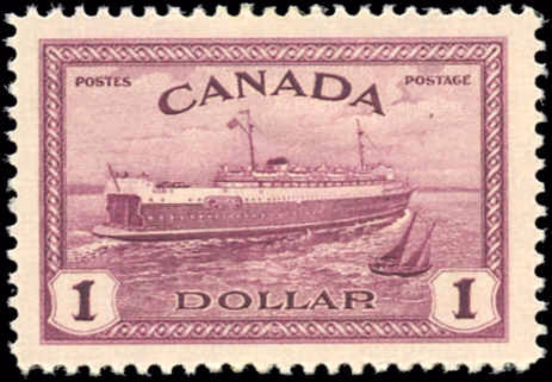Canada #273, Peace Issue, VF, MH