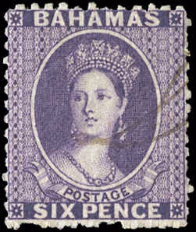 Bahamas Stamp, Scott ##14, F, Used
