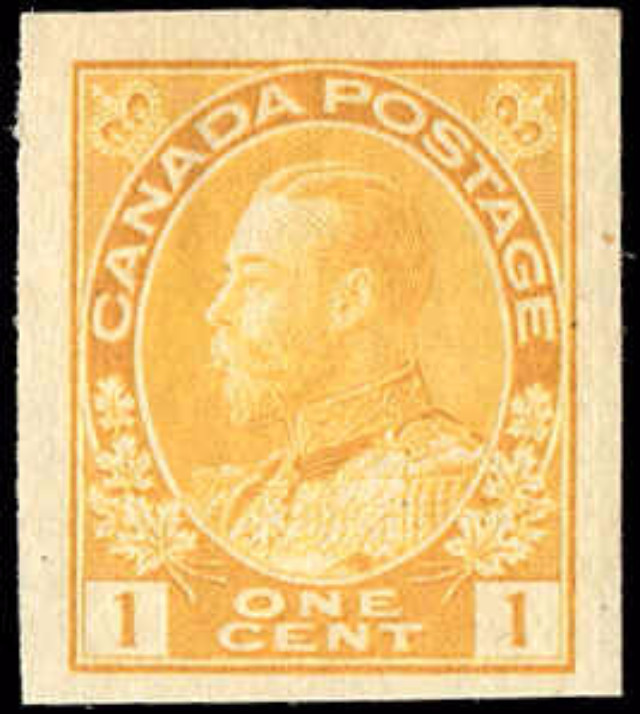 Canada #136, Admiral issue, F-VF, MH