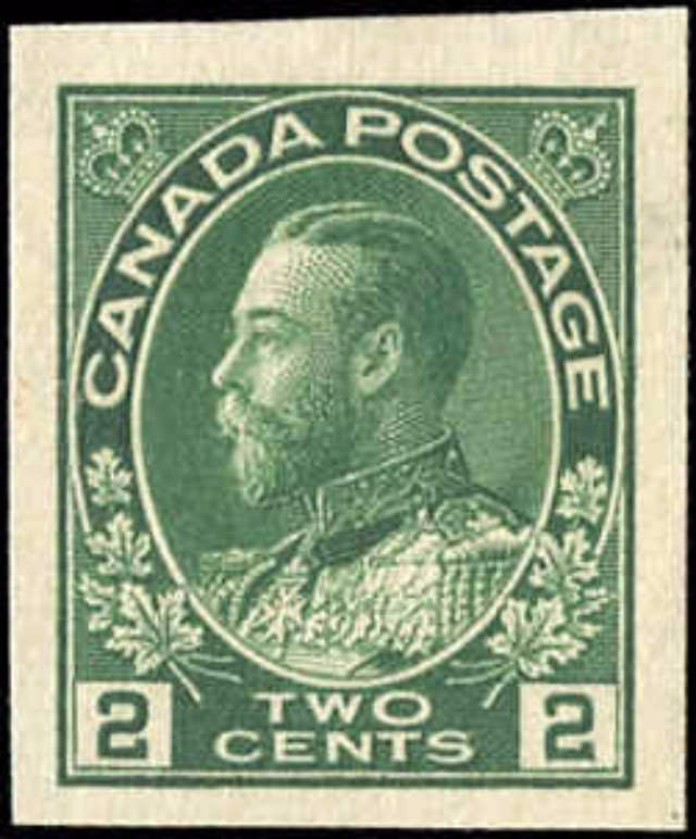 Canada #137, Admiral Issue, F-VF, MH