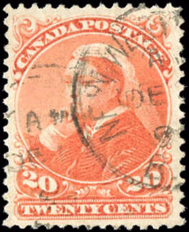 Canada ##46, Small Queen Issue, F-VF, Used