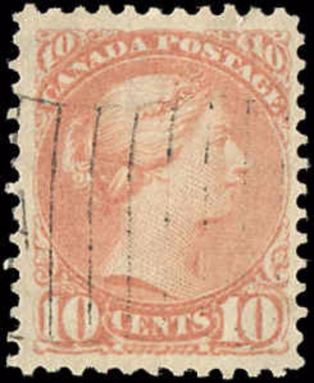 Canada ##40, Small Queen Issue, F-VF, Used
