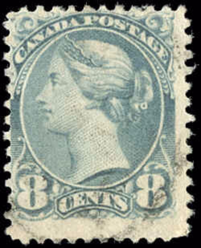 Canada ##44a, Small Queen Issue, F, Used