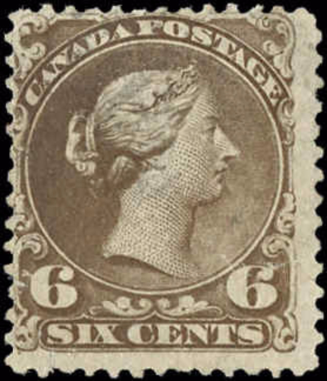 Canada ##27, Large Queen Issue, F, Used