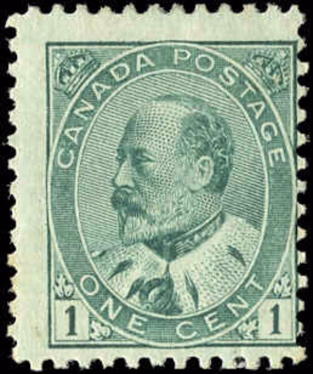 Canada ##89, King Edward VII Issue, F, MH