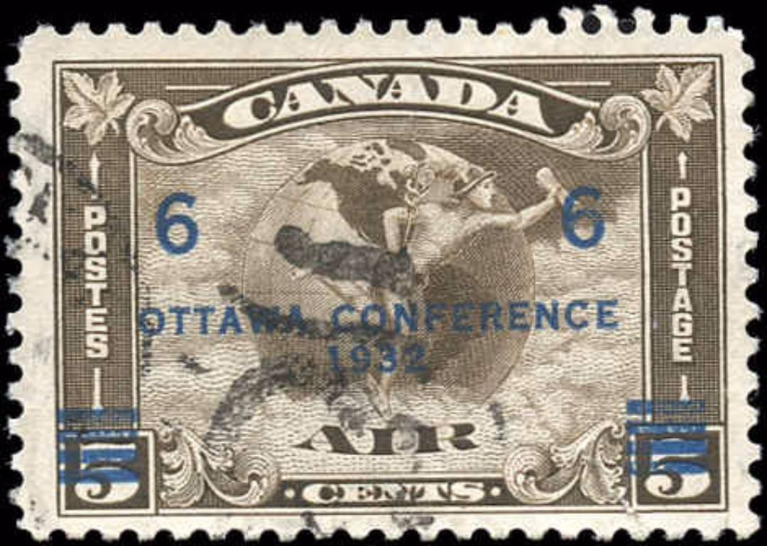 Canada #C4, Airmail Issue, F+, Used