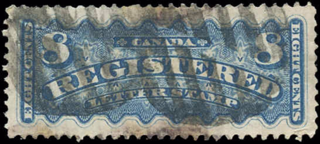 Canada #F3, Registration Issue, F-VF, Used