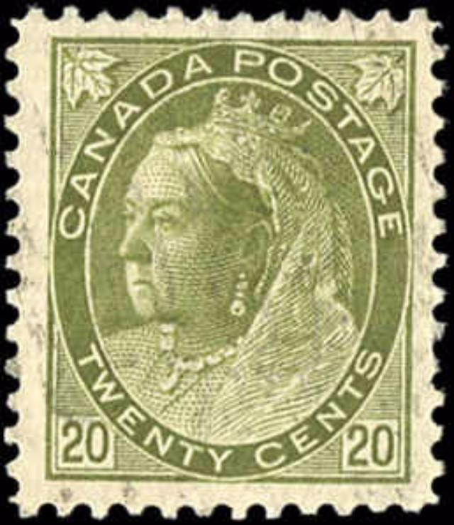 Canada ##84, Numeral Issue, F-VF, Used