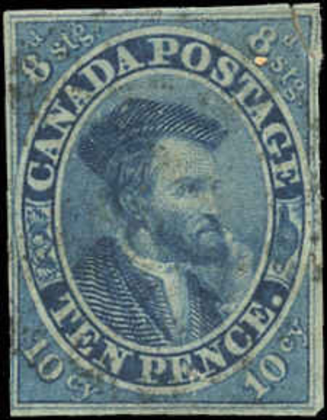 Canada ###7, Pence Issue, F-VF, Used