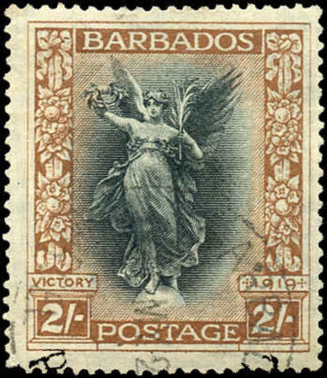 Barbados Stamp, Scott #149, F+, Used