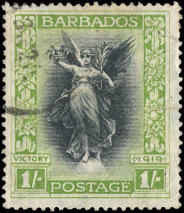 Barbados Stamp, Scott #148, F+, Used