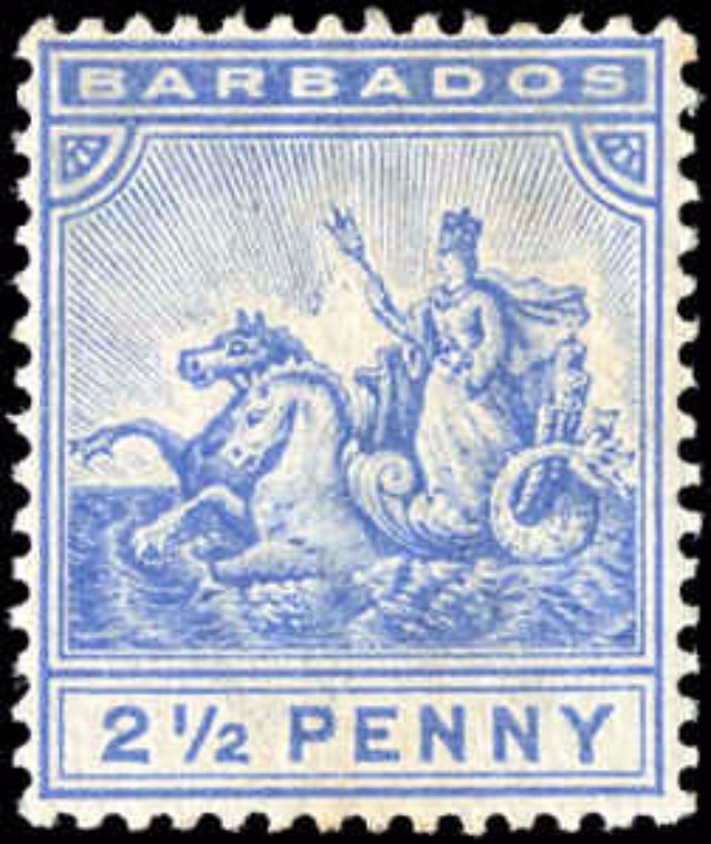 Barbados Stamp, Scott ##74, F+, MH