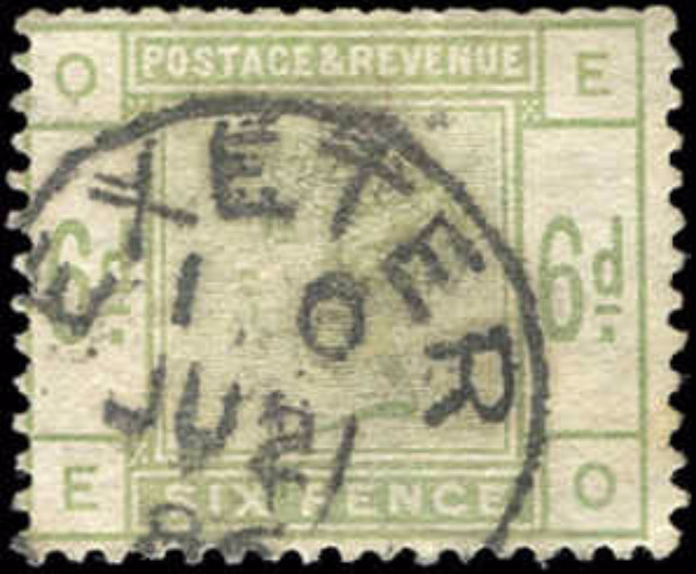 Great Britain, #105, F, Used