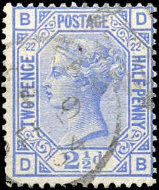 Great Britain, ##82, F, Used