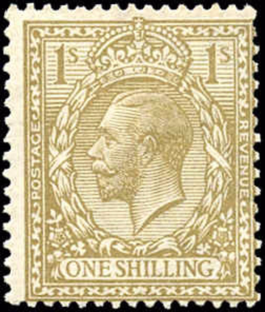 Great Britain, #172, F, MH
