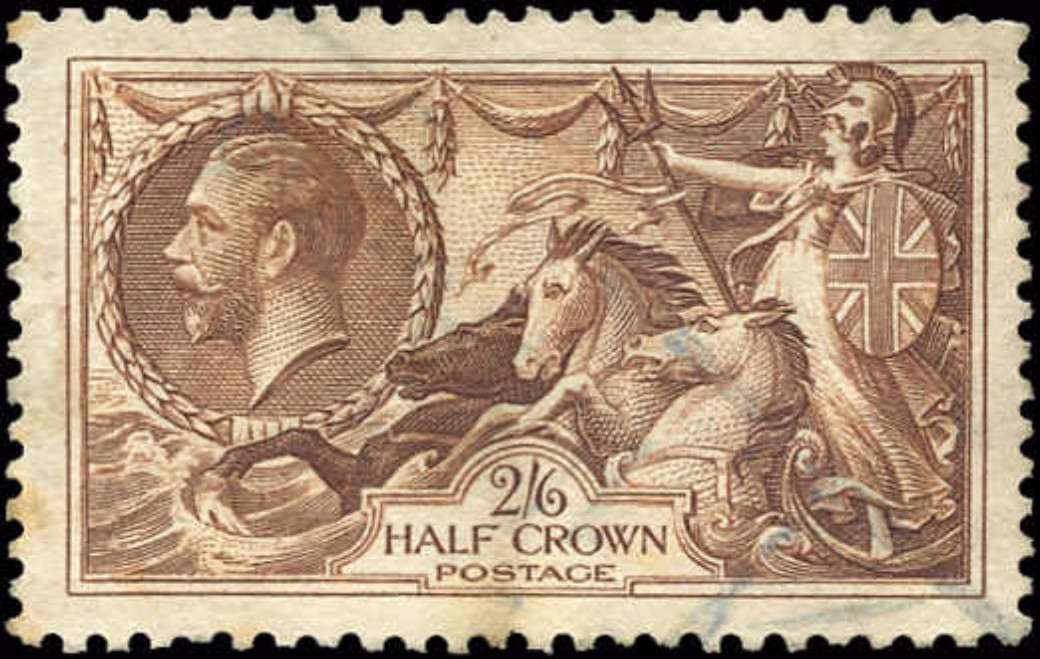 Great Britain, #222, F-VF, Used
