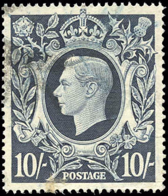 Great Britain, #251, F-VF, Used