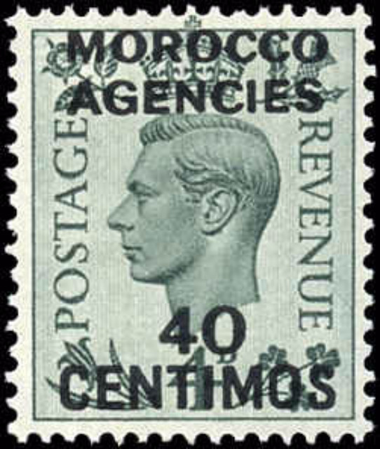 British Offices Abroad, Morocco, ##87, F-VF, MH