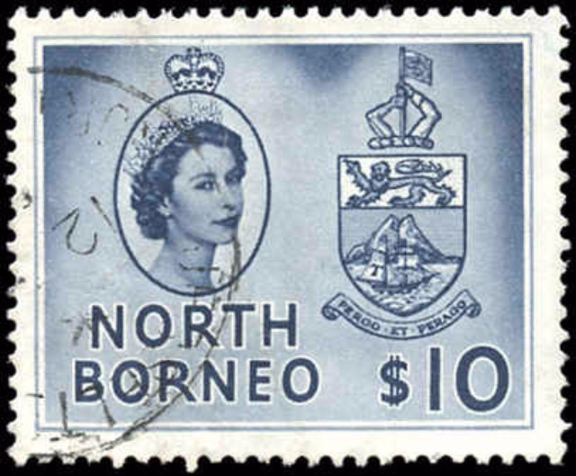 North Borneo, #275, F-VF, Used