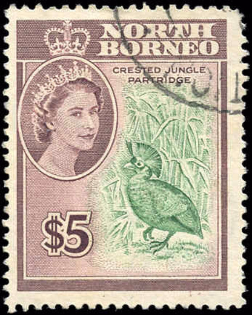 North Borneo, #294, F+, Used